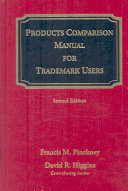 Products Comparison Manual for Trademark Users