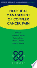 Practical Management Of Complex Cancer Pain Book PDF