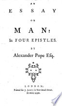 A Collection of Essays  Epistles and Odes  Etc