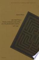 Die Frottola  : Musik, Diskurs und Spiel an italienischen Höfen 1500-1530