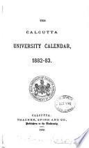 The Calcutta University Calendar
