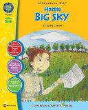 Pdf Hattie Big Sky - Literature Kit Gr. 5-6