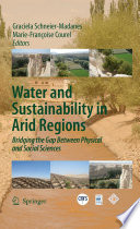 Water and Sustainability in Arid Regions Book