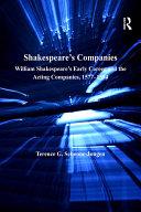 Shakespeare's Companies [Pdf/ePub] eBook