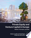 Private Equity And Venture Capital In Europe PDF