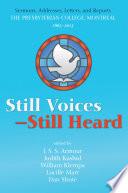Still Voices Still Heard