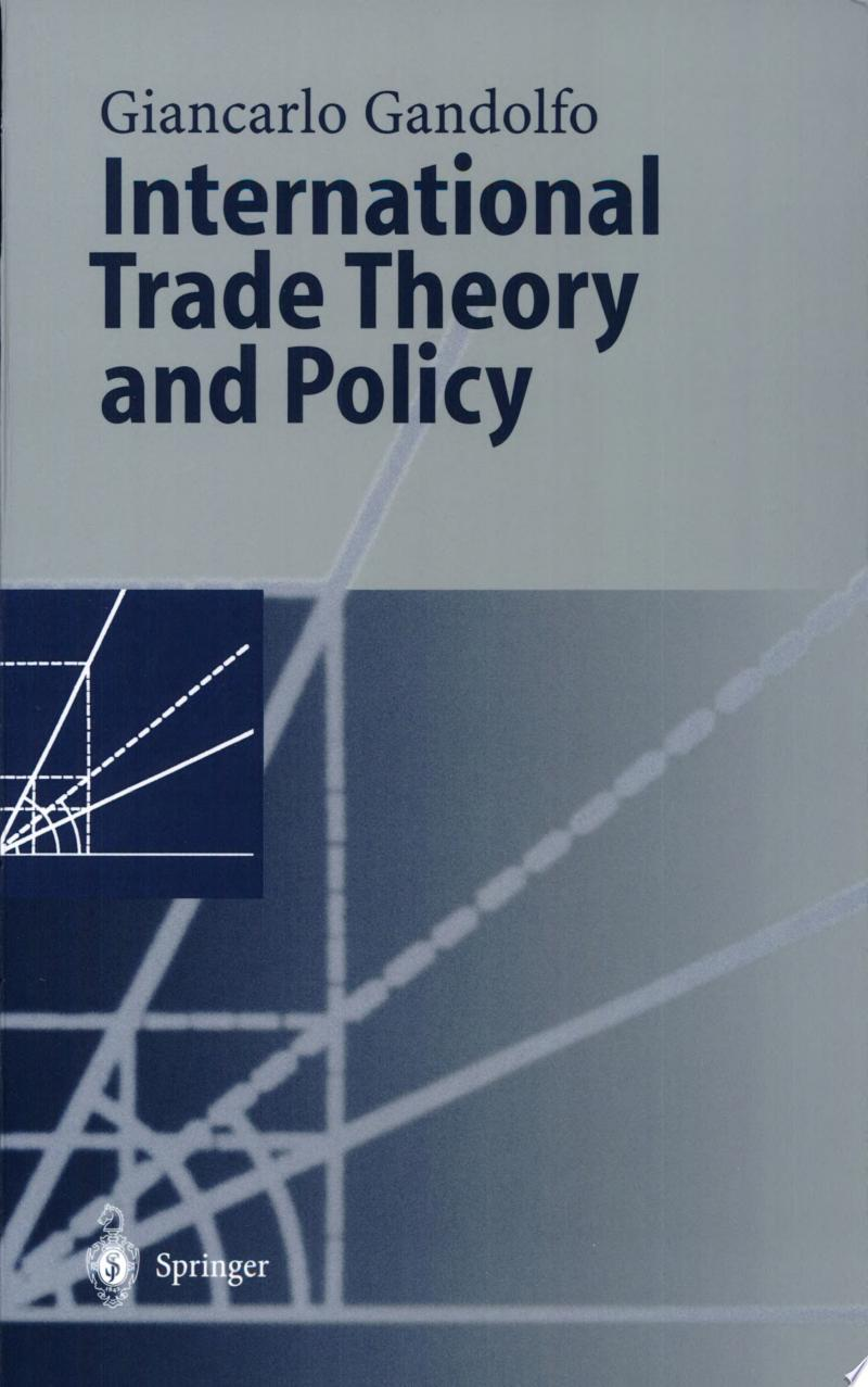 International Trade Theory and Policy banner backdrop