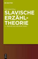 Slavische Erzähltheorie