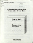 A General Description of the Corporation Source Book