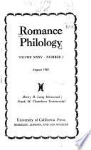 Romance Philology