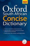 Books - Oxford South African Concise Dictionary 2e (Hardback) | ISBN 9780195982183