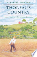 Thoreau's Country  : Journey through a Transformed Landscape