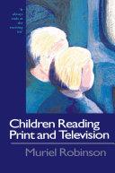 Children Reading Print and Television Narrative [Pdf/ePub] eBook