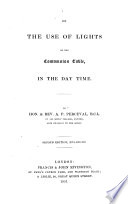 On the Use of Lights on the Communion Table in the day time