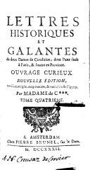 Lettres historiques et galantes de deux dames de condition ...