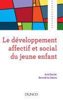 Pdf Le développement affectif et social du jeune enfant Telecharger