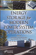Energy Storage in Modern Power Systems