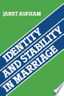 Identity And Stability In Marriage