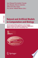 Natural And Artificial Models In Computation And Biology Book PDF