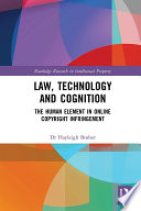 Law, Technology and Cognition
