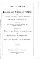 Pdf Encyclopaedia of English and American Poetry
