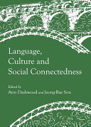 Language  Culture and Social Connectedness