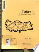 Turkey A Country Profile