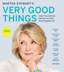 Martha Stewart's Very Good Things Pdf/ePub eBook