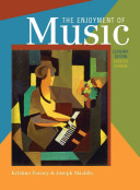 Cover of The Enjoyment of Music