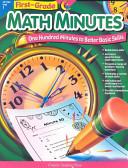 Math Minutes  1st Grade  eBook
