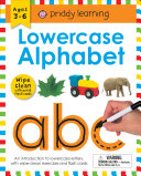 Wipe Clean Workbook  Lowercase Alphabet  enclosed spiral binding