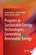 Progress In Sustainable Energy Technologies Generating Renewable Energy Book PDF