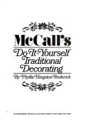 McCall's do-it-yourself traditional decorating