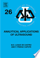 Analytical Applications of Ultrasound