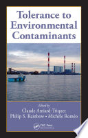 Tolerance To Environmental Contaminants Book PDF