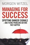 Managing for Success