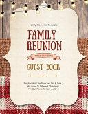 Family Reunion Guest Book Book PDF