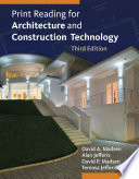 Print Reading for Architecture and Construction Technology Book