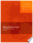 Rigging The Rule Of Law