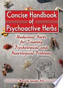 Concise Handbook of Psychoactive Herbs Book