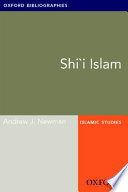 Shi I Islam Oxford Bibliographies Online Research Guide