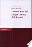 Alice Erh-Soon Tay
