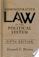 Administrative Law In The Political Sys
