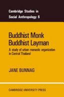 Buddhist Monk  Buddhist Layman