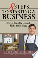 8 Steps to Starting a Business Book