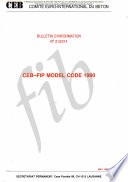 Ceb Fip Model Code 1990