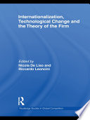 Internationalization Technological Change And The Theory Of The Firm