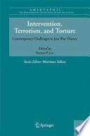 Intervention Terrorism And Torture
