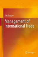 Management of International Trade