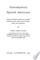 Contemporary Spanish Americans